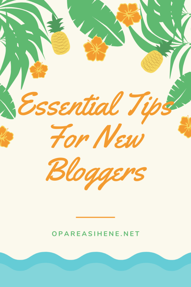 Essential Blogging Tips that will help improve your blog and your writing.