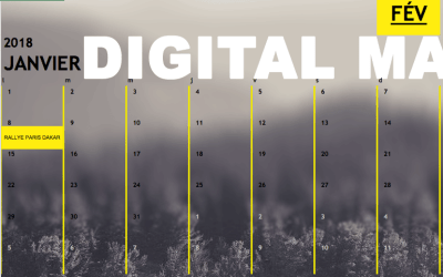 Votre calendrier digital sportif 6 mois.