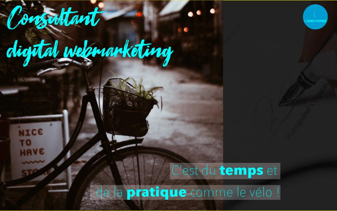 Le webmarketing … c'est comme le vélo