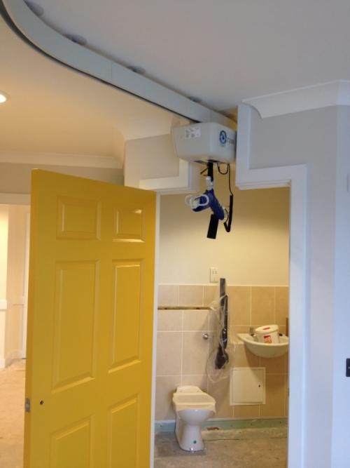 Ceiling Hoist Through Door Header OpeMed