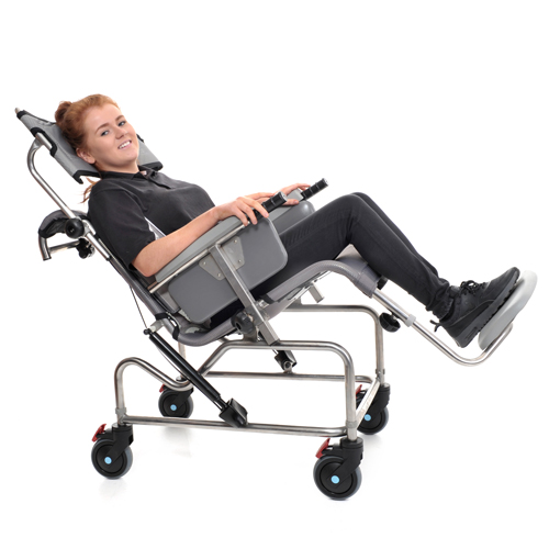 TiltinSpace Shower Chair and Cradle  OpeMed