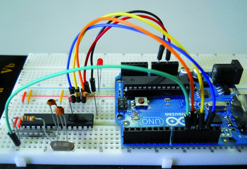 Arduino ISP (In System Programming) and stand-alone circuits