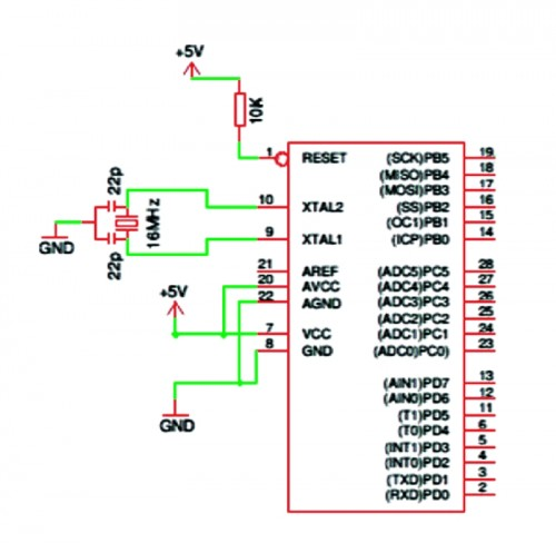 Arduino ISP (In System Programming) and stand-alone circuits | Open