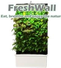 active green wall