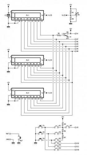 lcd shield schematics