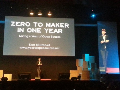 Rome Maker Faire Sam Murihead