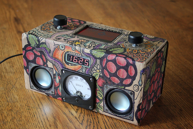 Raspberry Pi as an Audio/Media Center: the best Linux