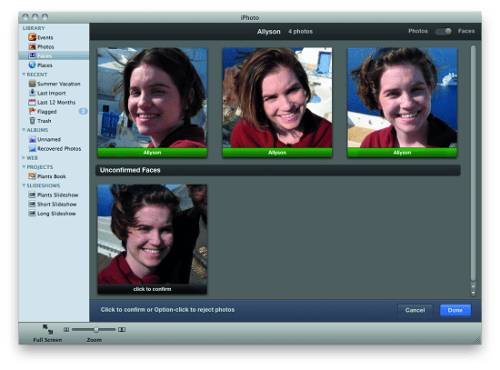 Raspberry Pi and the Camera Pi module: face recognition