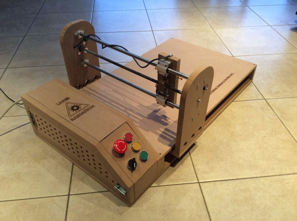 An arduino powered laser engraver that you can build