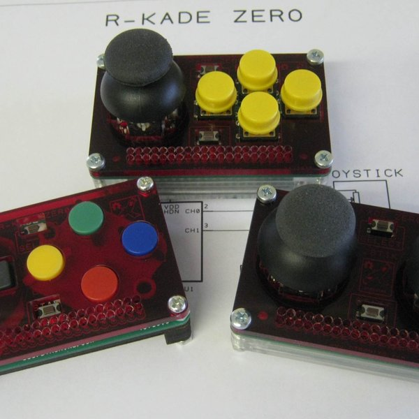 R-Kade Zero • The gaming controller for the Raspberry Pi