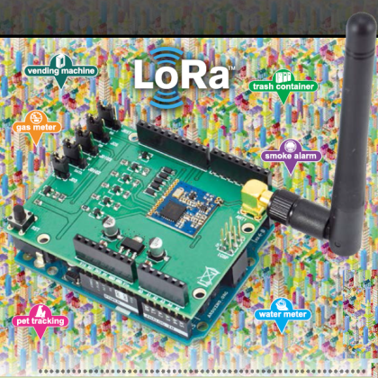 The LoRa shield: an Open Source Arduino's long-range