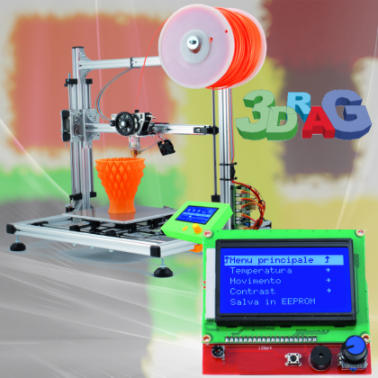 Full Graphic Smart Controller display for 3Drag 3Dprinter