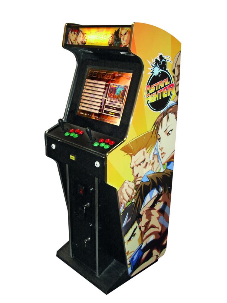 Buiding an arcade coin-op machine to rediscover the 80-90s