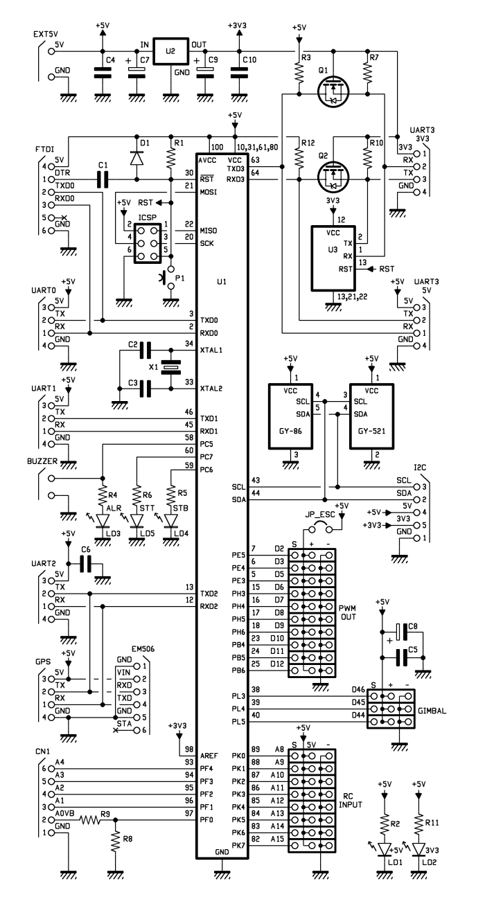 hight resolution of by an electric motor the whole being managed by an electronic board