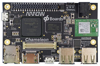 Chameleon96: the first FPGA-enabled and ARMv7 96Boards entry   Open