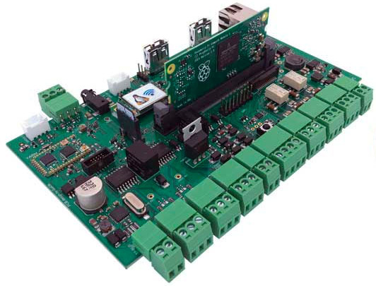 CM3-Home: Home Automation Carrier Board for Raspberry Pi CM3   Open