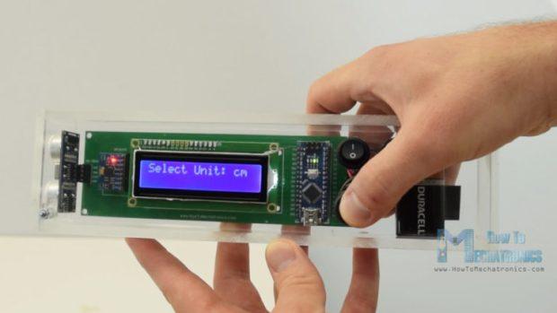 Arduino Range Measurer and Digital Spirit Level | Open