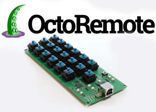 OctoRemote: the Hackable Keyboard Designed for 3D Printing