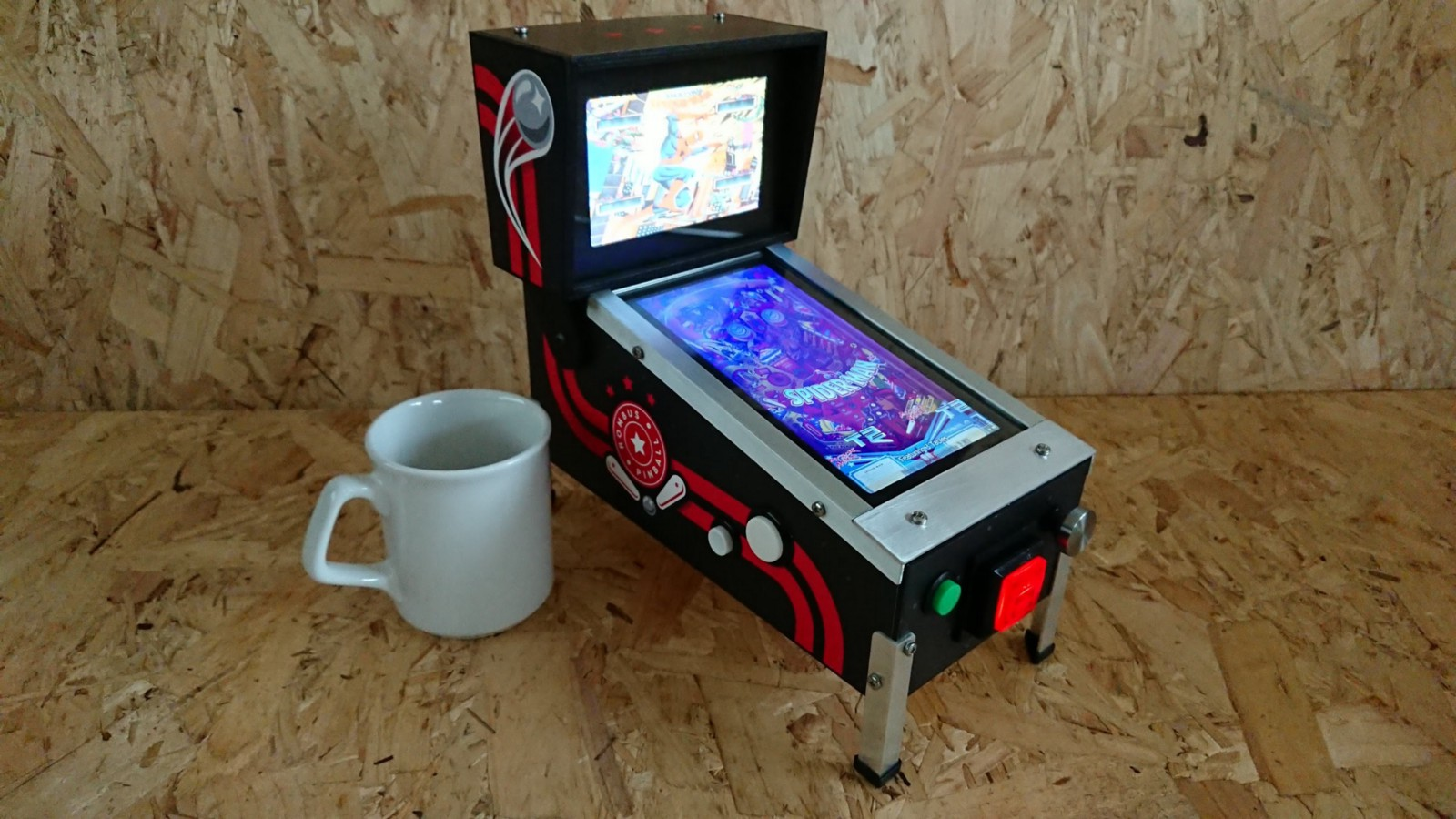 Create Your Amazing Mini Pinball Machine | Open Electronics