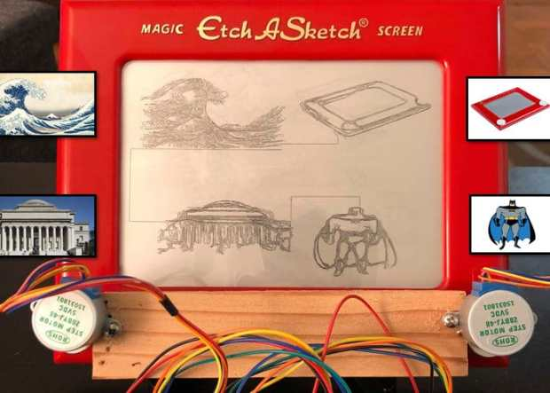 How to Make a Raspberry Pi Powered Etch-a-Sketch System | Open
