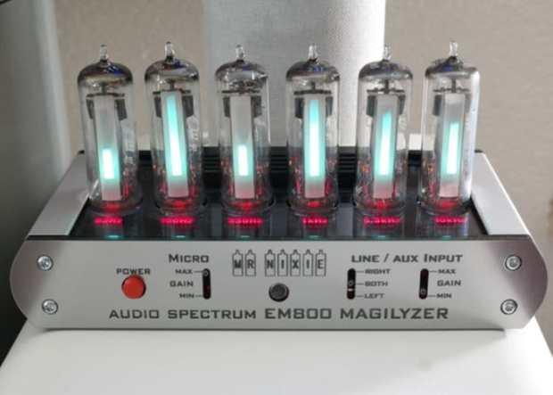 Magilyzer EM800: DIY Audio Spectrum Analyzer Kit Now on Kickstarter
