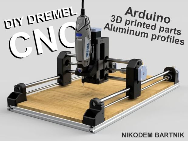 DIY a CNC Machine With a Dremel As a Spindle | Open Electronics