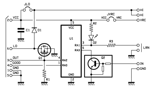 rc switch - open electronics - open electronics  open electronics