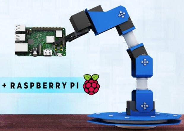 DIY Robotic Arm for Raspberry Pi Hits Kickstarter | Open