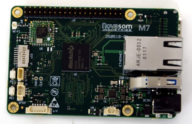 Novasom M7: the Raspberry Pi 3 Replacement in Industrial Projects
