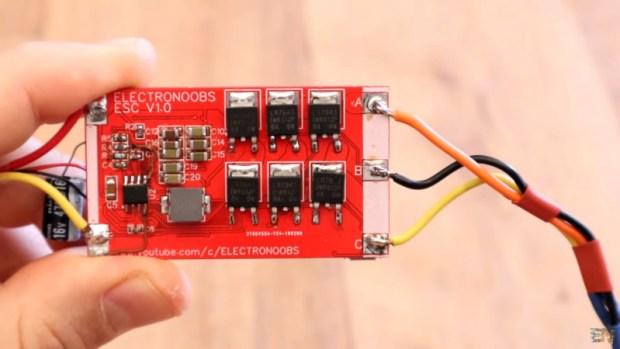 Arduino Sensorless Electronic Speed Controller   Open Electronics