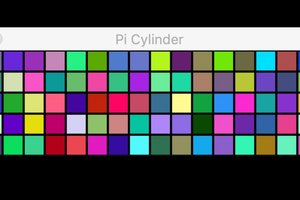 GUI for programming cylinder