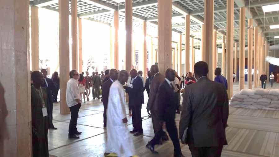 Palais de Justice à Dakar