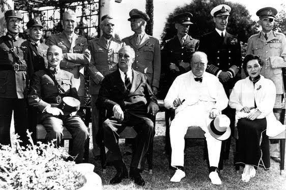 戰後中美關係的波折(1945-1972)