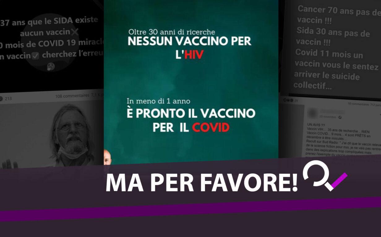 nessun vaccino per l hiv e