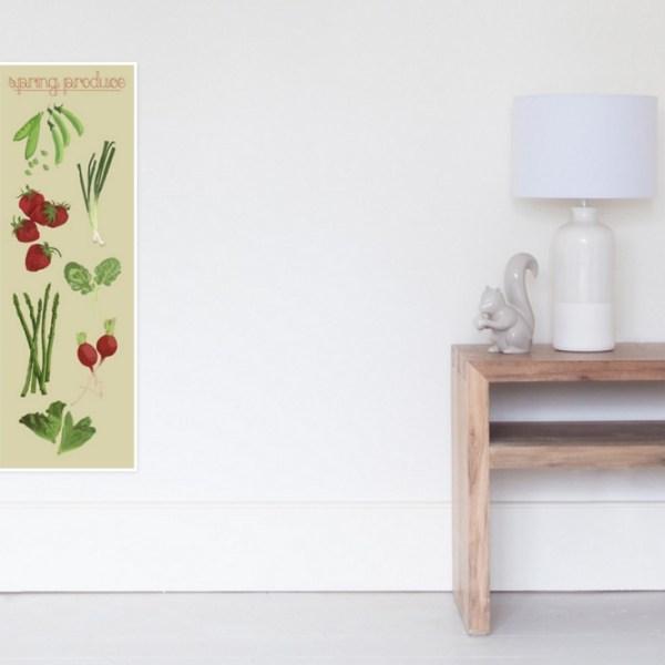 Spring Produce Open Art Media