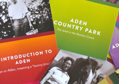 Aden Country Park leaflets