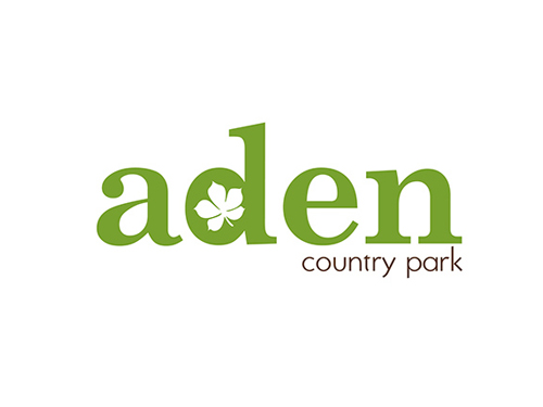 Aden Country Park identity
