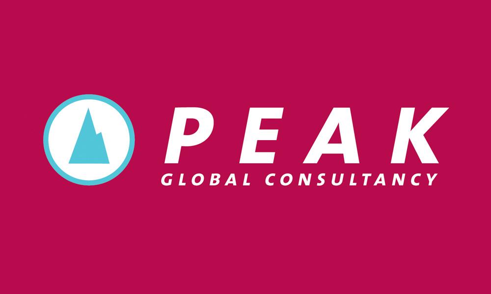 peak logo full red bg