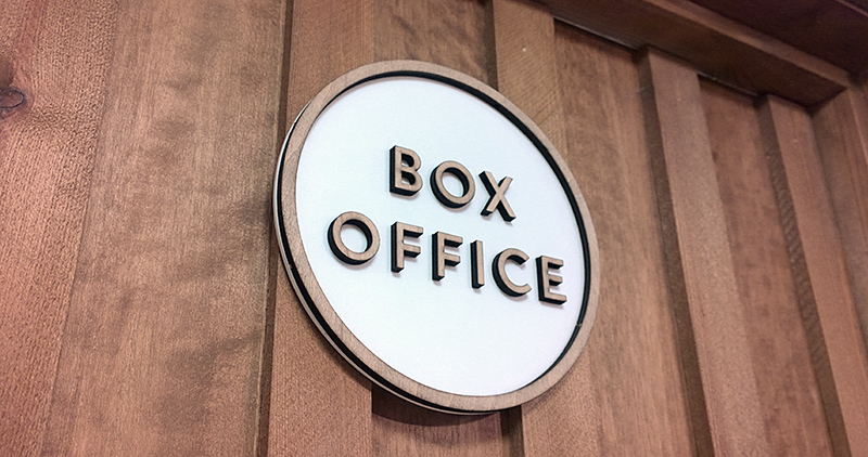 box office door
