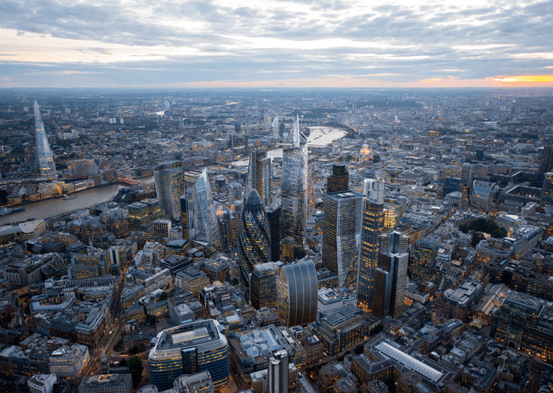 UK Alternative Finance Landscape - London Skyline Picture
