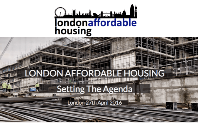London Affordable Housing Summit