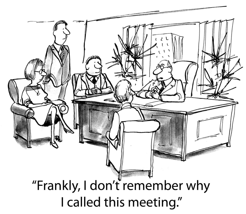 The impacts of poor meetings also affect people's own behaviour