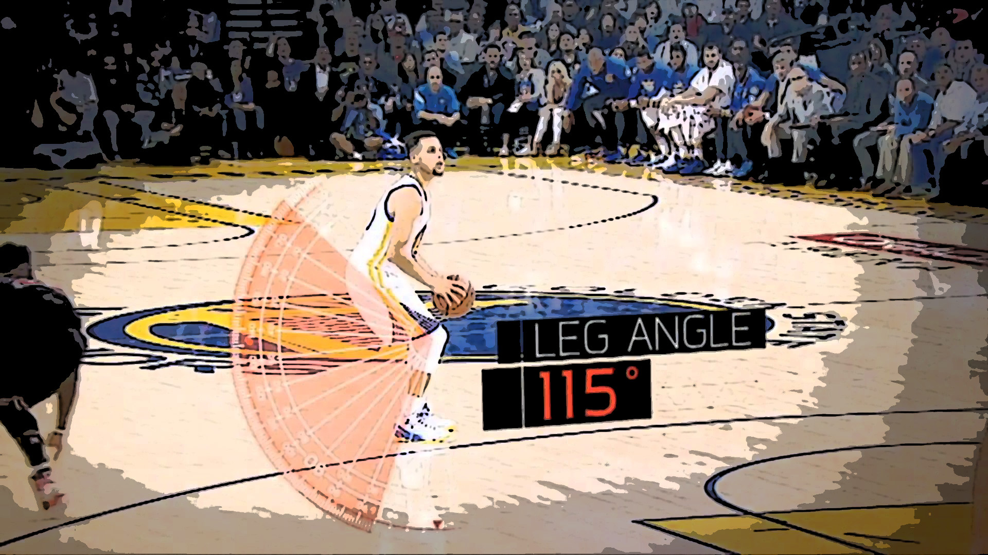 ESPN Sport Science Curry from 30