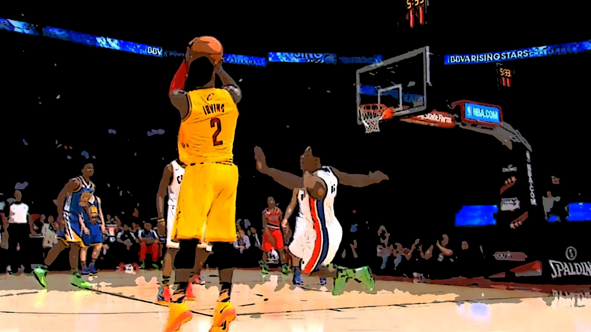 Jamal Crawford Wallpaper Hd Kyrie Irving S Ankle Breaking Moves On Brandon Knight