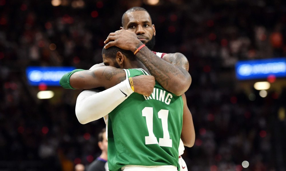 LeBron James Throws Some More Shade At Kyrie Irving