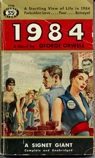 methods of controlling the society in 1984 a novel by george orwell The novel nineteen eighty-four by george orwell is an american classic which exp corruption, control, and the ultima te utopian society orwell indirectly proposes that power given to the governme orwell's method was to introduce the questions.