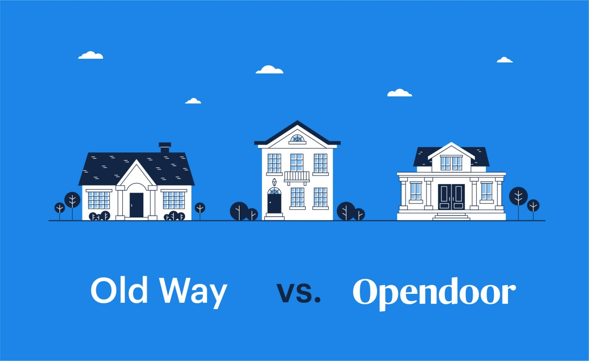 hight resolution of selling your raleigh home old way vs opendoor infographic