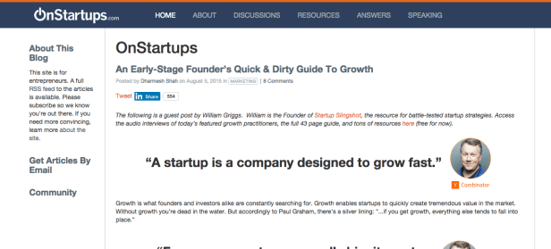 30 Must-Read Blogs For The Growing Entrepreneur29