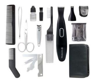 Kit De Corte Remington Tlg100 16 Piezas Kit De Viaje Preciso
