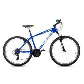 Bicicleta Mountain Bike TopMega Rowen Rodado 26 21 Velocidades Verde y Azul